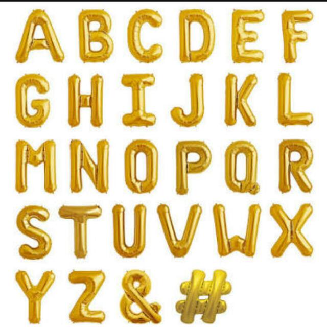 Letters/Numbers  balloon For Sale!! Cheaper Than Na Mall Price..