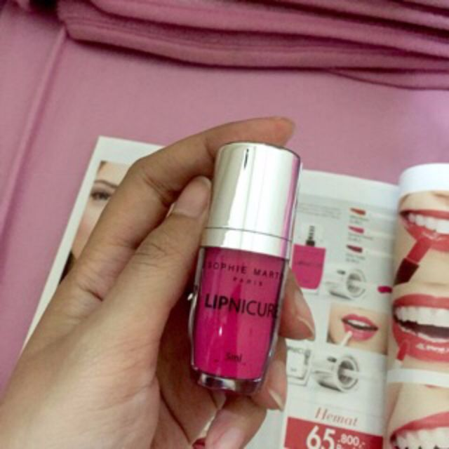 Lip Color Lipnicure Sophie Paris Sweet Peony Lip Matte Lipstik Barbie