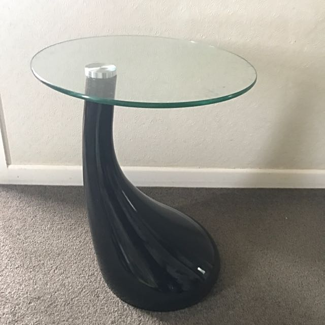 Loft Glass Side Table