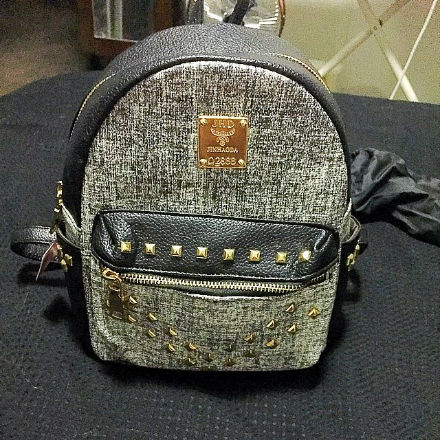 Mini Back Pack Bag With Studs
