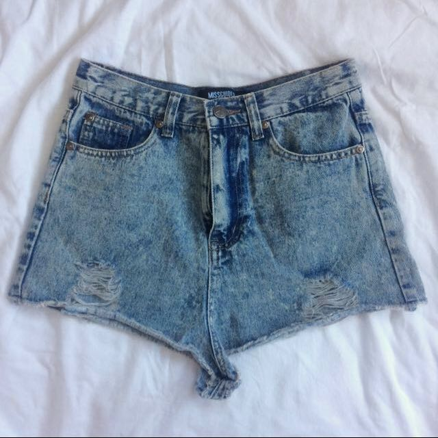 Missguided Denim Shorts