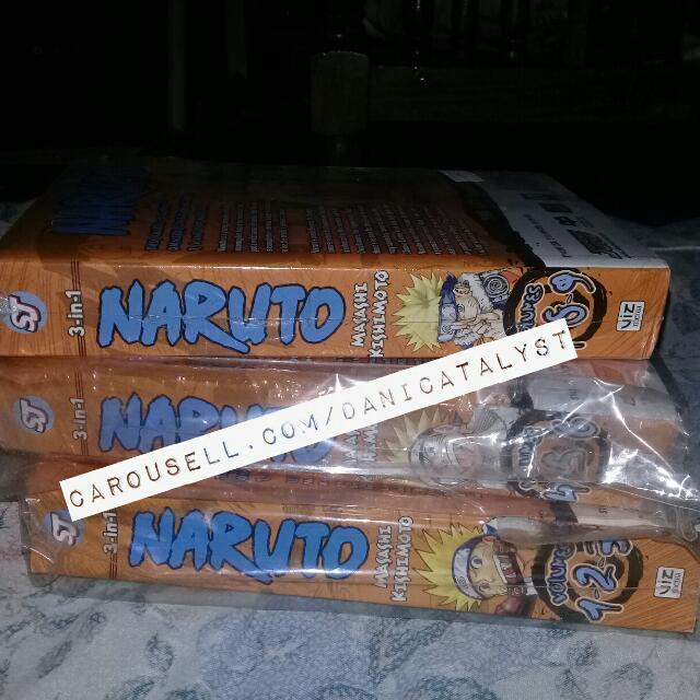 Naruto 3-in-1 Omnibus Volume 1-9