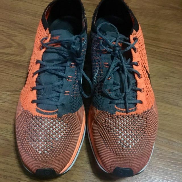 Nike Flyknit Racer Total Orange V1