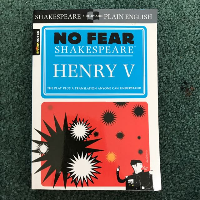 No Fear Shakespeare (Henry V)