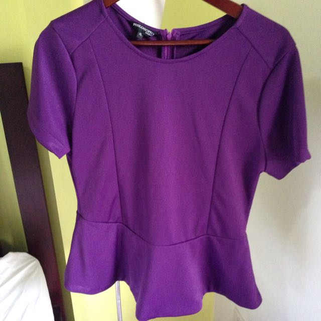 Philosophy Plum Top