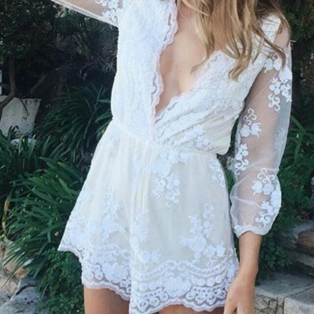 Playsuit From Chiffon Boutique XS