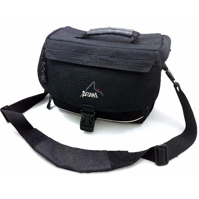 Point padded DSLR camera shoulder bag