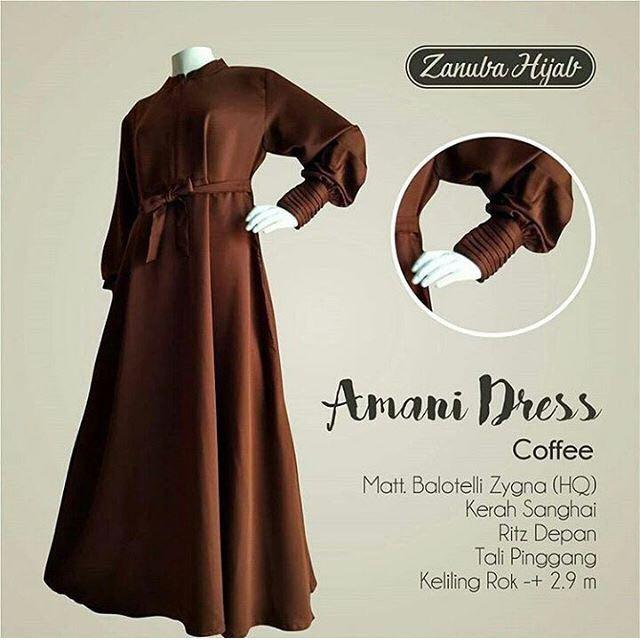 Preloved Gamis Balotelli Zanuba Amani Dress