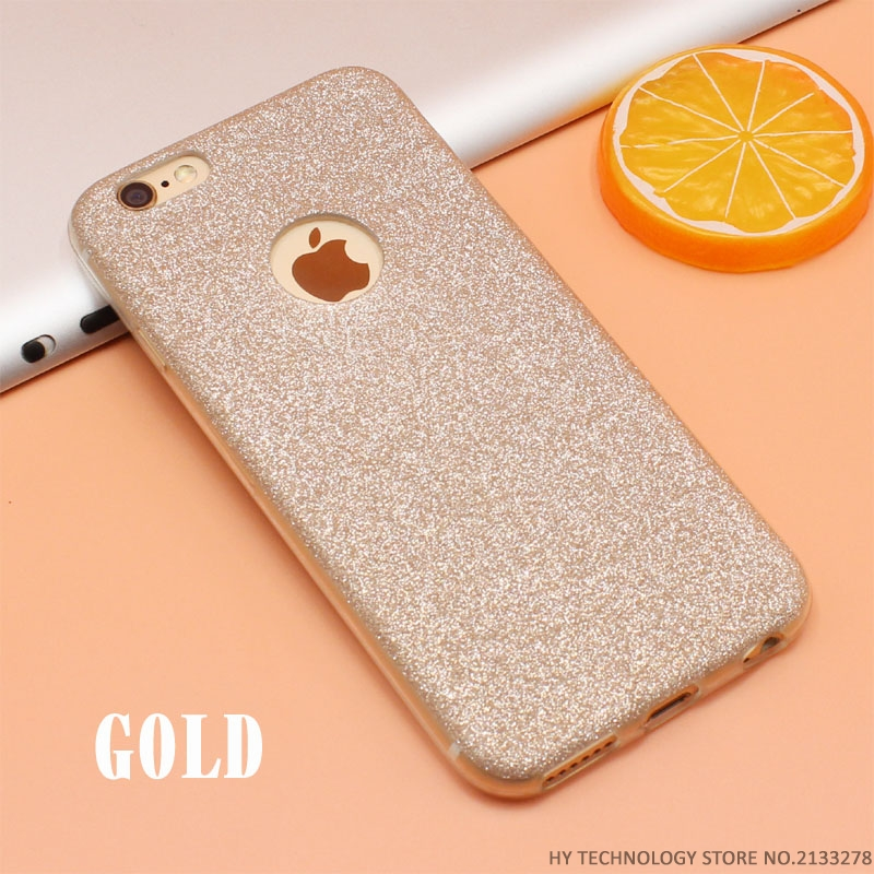 READY Luxury Glitter Case untuk iphone 5/5s/5se 6/6s 6plus/6splus 7/7plus