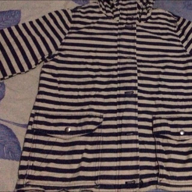 re-price Parka GAP stripe