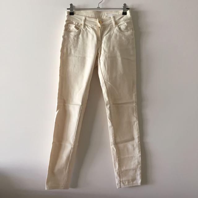 Sass & Bide Lovestate Cream Jeans