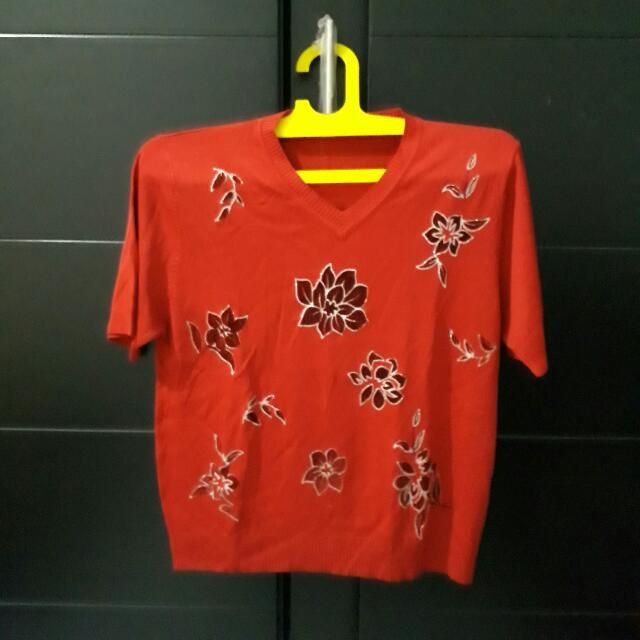 Flower Red XL