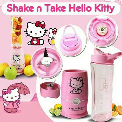 shake n take gen generasi 4 blend go 2 double cup juicer blender HK, Kitchen & Appliances di Carousell