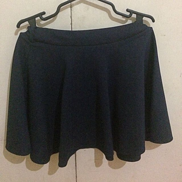 Skater Skirt Navy Blue