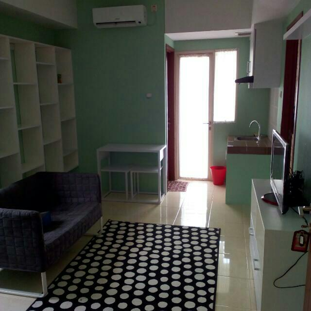Studio Room For Rent By Farida's Property At Green Lake View Ciputat