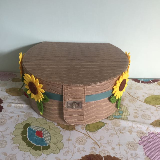 Sunflower empty box
