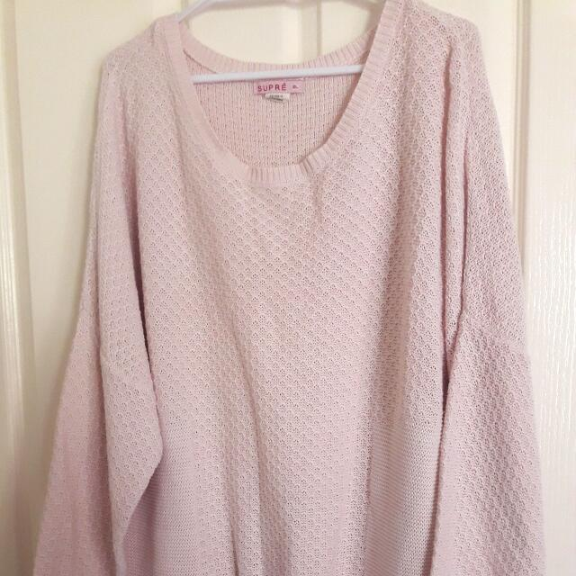Supré Sweater XL (Pink)