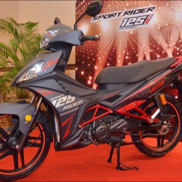 SYM Sport Rider 125i SE Matt Grey [offer]