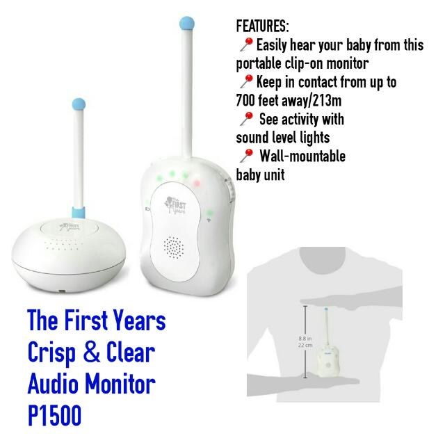 The First Years Crisp And Clear Audio Monitor + Panther Transformer