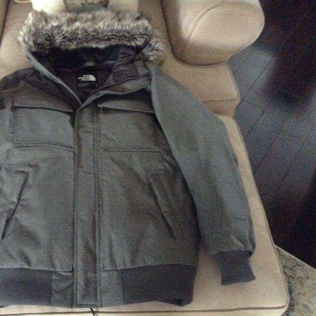 The North Face Grey Gotham Winter Coat Mens
