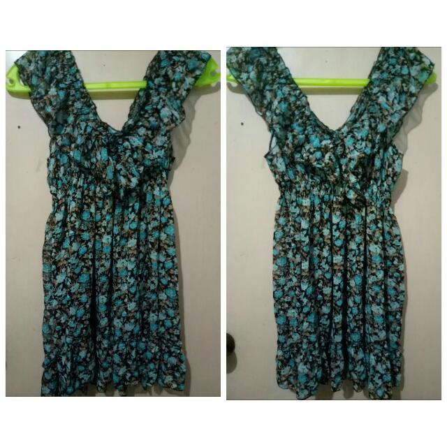 V-neck Sexy Dress