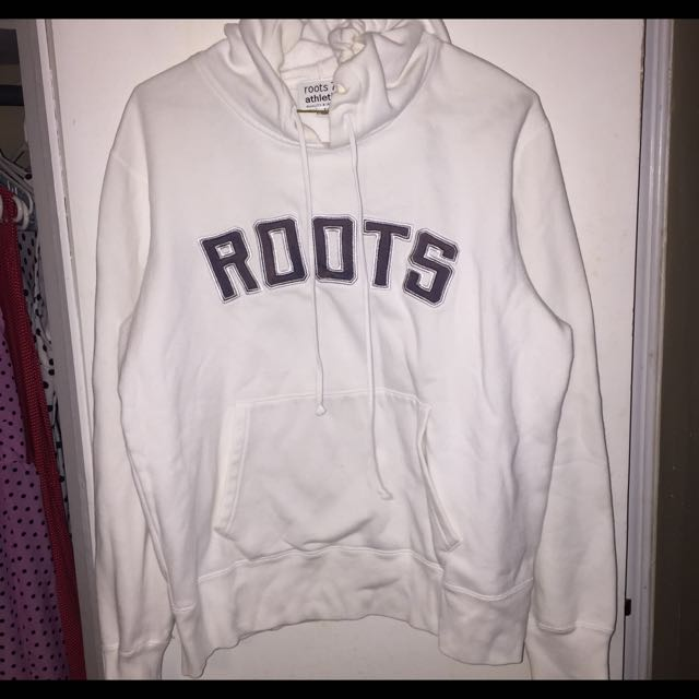 White Roots Sweater