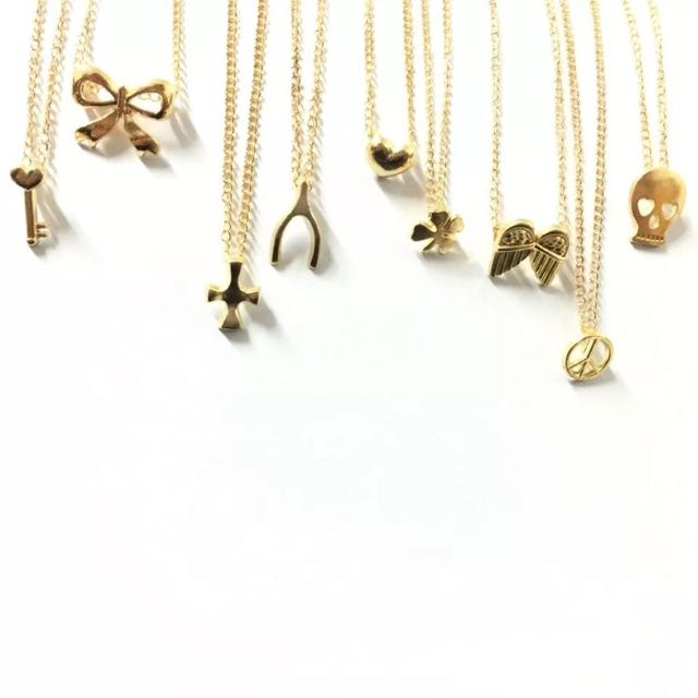 Women's Gold Fashion Necklace