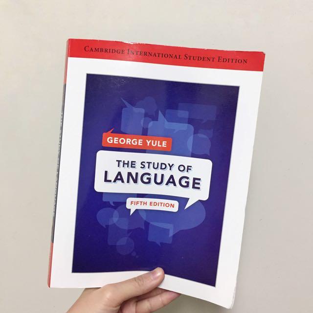 Yule/The Study Of Language #我有課本要賣