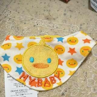 小鴨圖案領巾(日本進口)