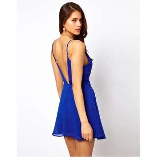 Perfect Blue summer dress