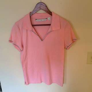 Baby Pink Tommy Hilfiger Shirt