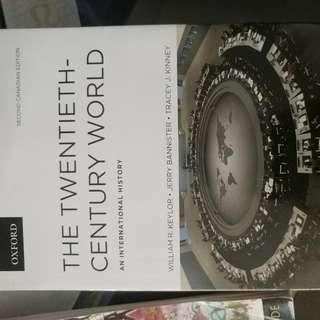 The Twentieth Century World An International History