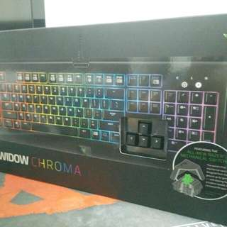 Razer Blackwidow Chroma STANDARD EDITION