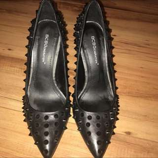 BCBG Studded Heels Size 7, Worn Once Perfect Condition