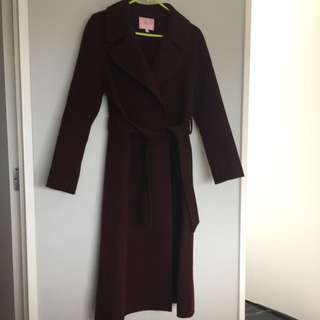#autumndeclutter 100% Wool Coat