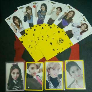 Trade Only For Now Twice Photo card And Goods