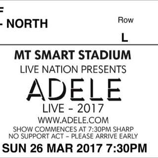 Ticket To Adele
