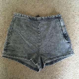 Forever 21 High Waist Pin Up Shorts