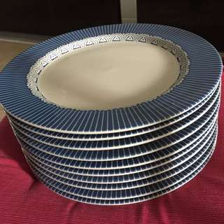 10 pcs Ceramic plate(The price is for per piece..)