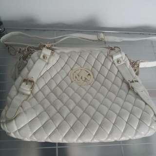 Mk White Bag