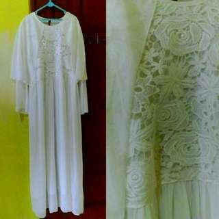 Pmytha Ied White Dress
