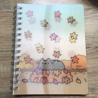 Pusheen Autumn A5 Spiral Bound Notebook