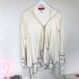 Tigerlily Embroided Cream Summer Coat