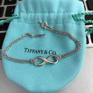 Authentic Tiffany & Co Infinity bracelet