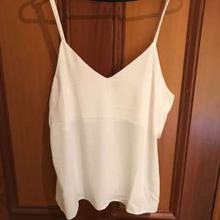 Atoms And Here White Cami Top