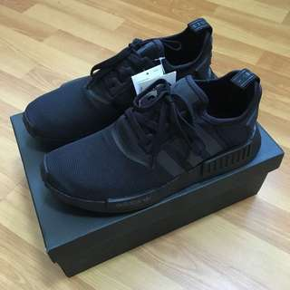 62fac1ca85a49 Authentic Adidas NMD R1 Triple Black