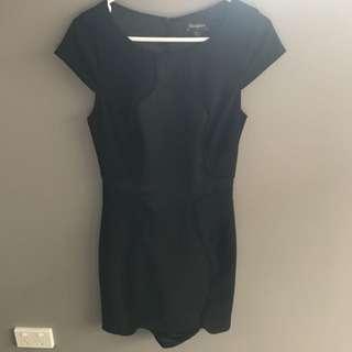 Cute Black Work Dress