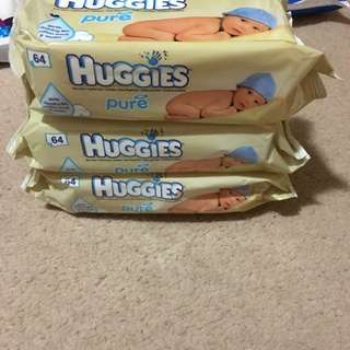 Baby Wipes I Have 4 Packs