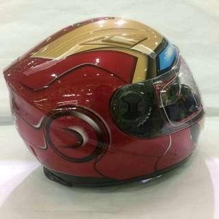 Motorcycle helmets Gdr fullface Ironman design