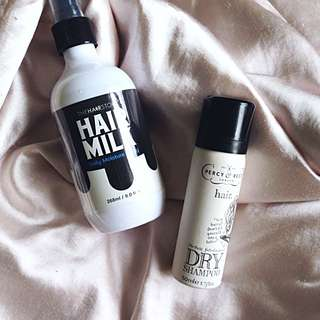 2 In 1 HAIR SET ( Dry Shampoo And Hair Milk Protein )
